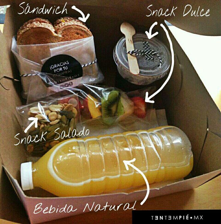 BOX LUNCH PERSONALIZADO. Así armamos nuestros Box Lunch en #TentempiéMx #BoxLunch #Healthy #Saludable todo los productos elaborador por TENTEMPIÉ•MX