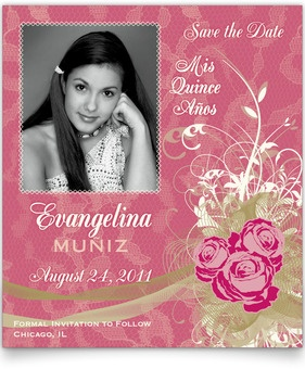 22 best Quinceanera Invitations and Save-the-Dates images on Pinterest