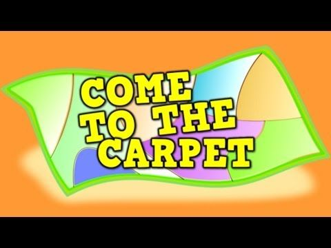 Come to the Carpet (transition song for kids) - YouTube