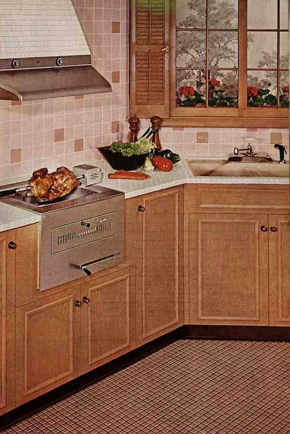 1960s Kitchens 51 best 1960s images on pinterest | 1960s kitchen, vintage kitchen