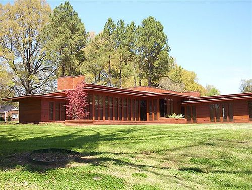 167 best frank lloyd wright houses images on pinterest for Furniture 4 less muscle shoals al