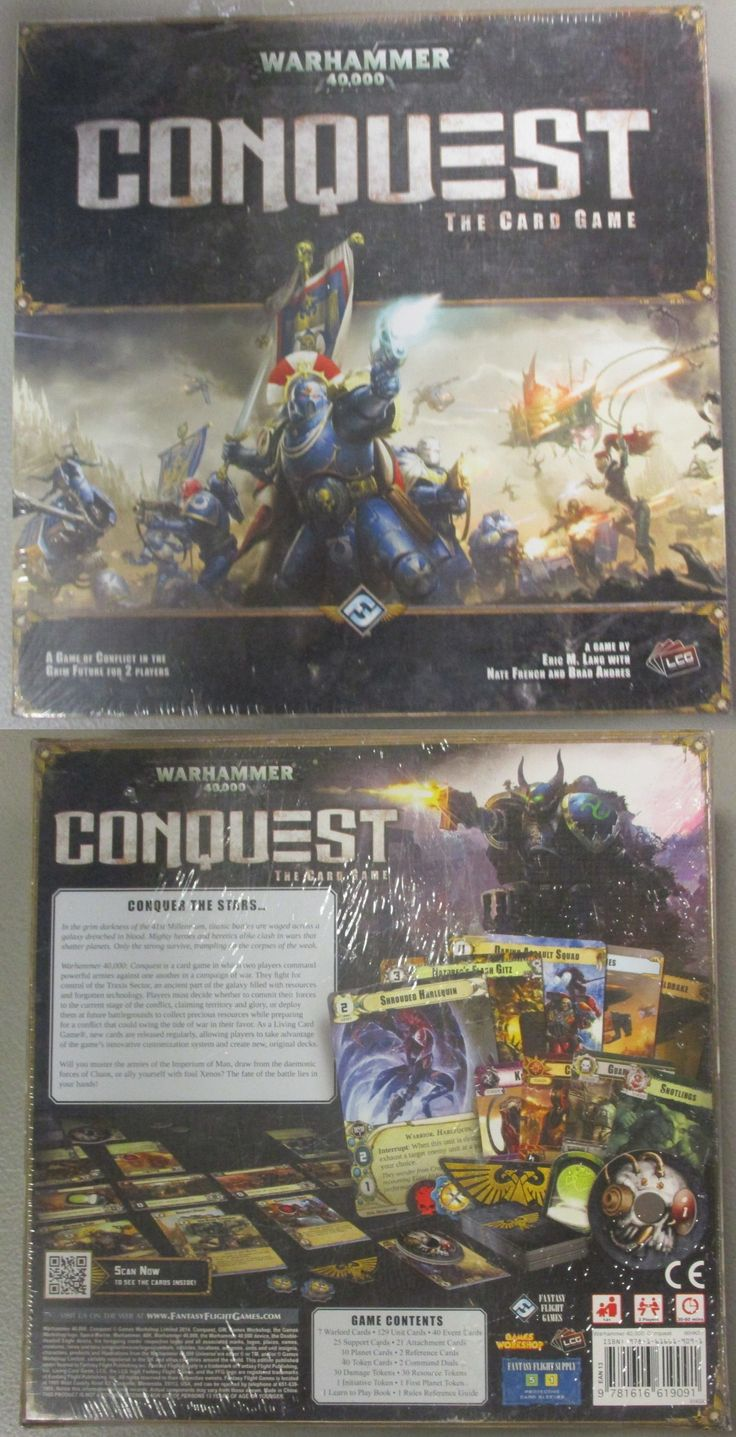 40K Starter Sets 183472 Warhammer 40,000 40K Conquest The