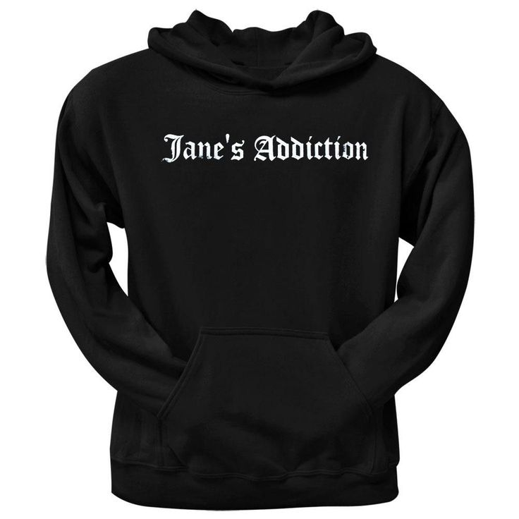 Janes Addiction - Old English Pullover Hoodie