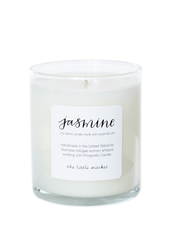 Jasmine Soy Blend Candle from The Little Market
