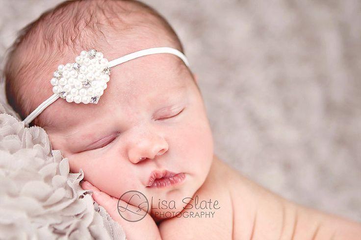 Bandas recién nacido bebé diadema diadema por sprinklesforsprouts