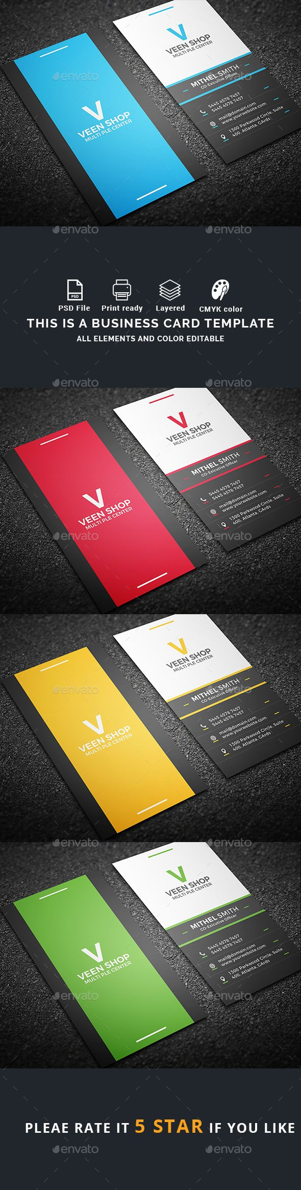 Best Business Card Inspiration Images On Pinterest Business - Buy business card template