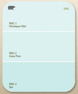 Behr Spa Aqua Pura Think I Would Like To Use This In My Bath Color For All Seasons Pinterest Paint Painting And Colors