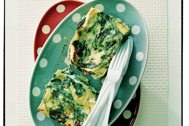 Lasagne met ricotta en spinazie - Recept - Allerhande