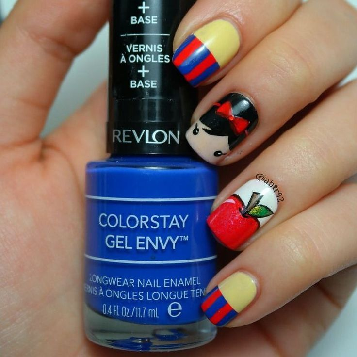 Snow White Nails: 25+ Best Ideas About Snow White Nails On Pinterest