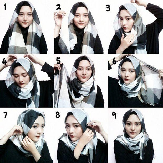 Pilihan Tutorial Hijab Pashmina Terbaru 2016