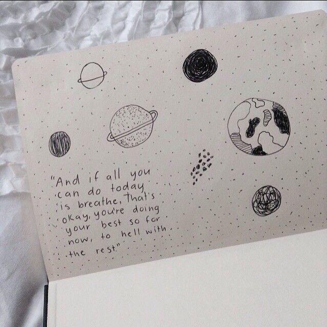 Grunge journal tumblr google search journal ideas for Minimal art journal