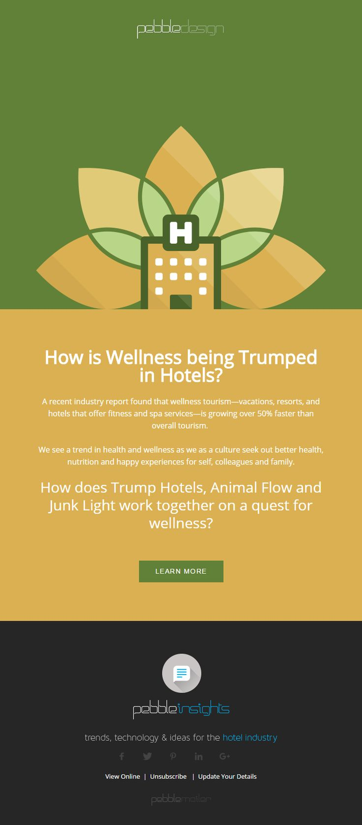 How is Wellness being Trumped in Hotels? - Hospitality Insights #hospitalityinsights #hotelwebdesign #hotelwebsitedesign #pebbledesign #hotelwebsites