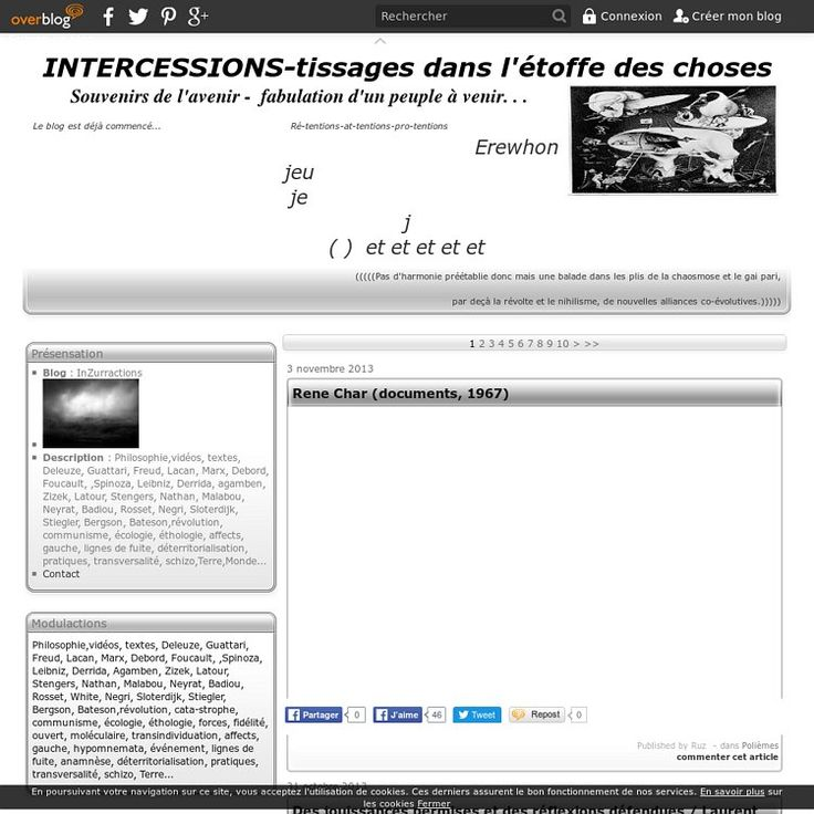INTERCESSIONS ( > 2013) | Pearltrees