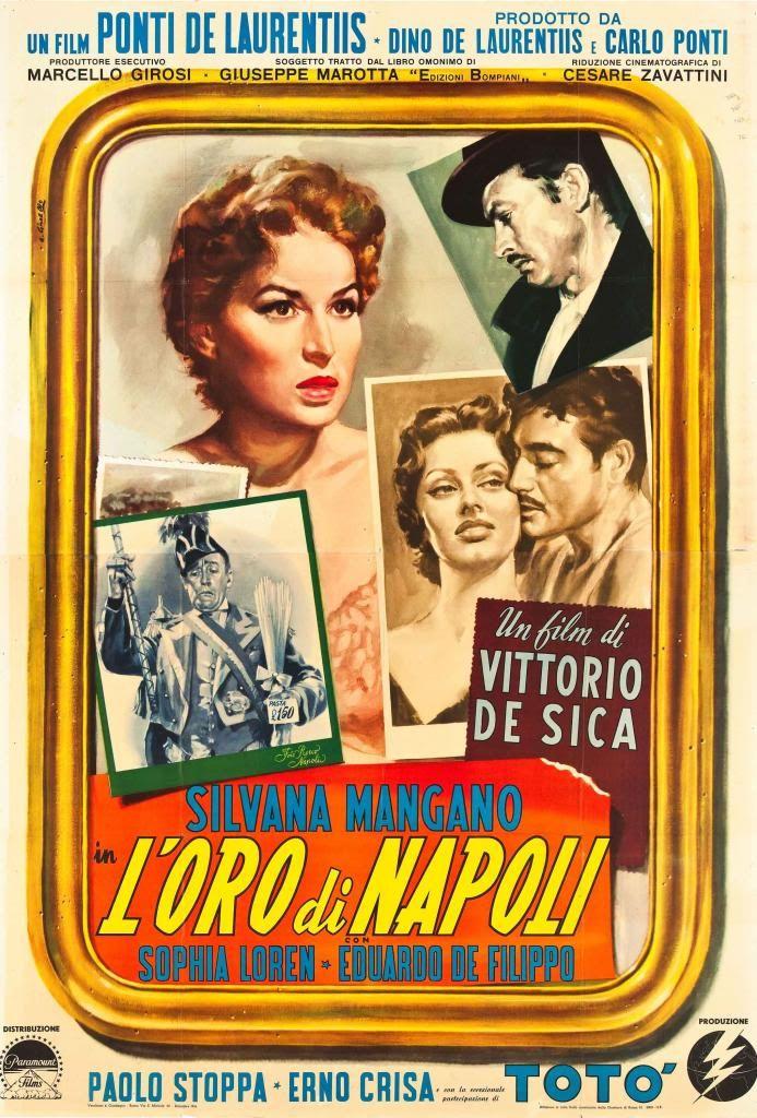 L'oro di Napoli è un film a episodi del 1954 diretto da Vittorio De Sica. La pellicola è suddivisa in sei episodi complessivi.