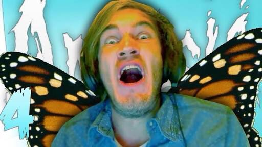 Pewdiepie is a butterfly