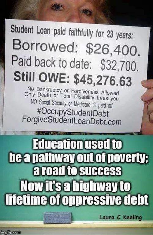 Jill Stein will forgive (end) ALL student debt! Check her platform at jill2016.com #JillOrBust