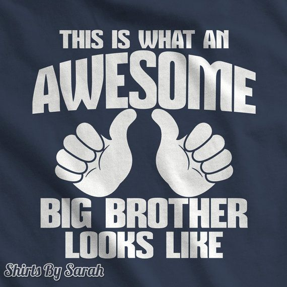 Awesome Big Brother T-Shirt - This Is What Awesome Big Brother Looks Like TShirts Custom Boy's Children Youth