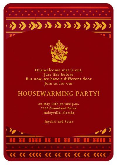 new home new memories invitation  invites  house