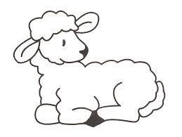 """Képtalálat a következőre: """"húsvéti bárány sablon"""""""