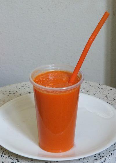 рецепт смузи из манго и моркови