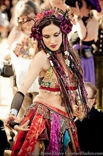 beautiful belly dancer... all that have danced for us have been beautiful...