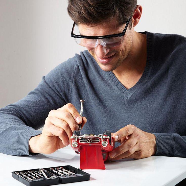 #Vergrößerungsbrille-die Lupe auf der Nase Kunststoff-Gläser in Optiker-Qualität 160 % #Vergrößerung.Praktischer als ein Vergrößerungsglas.