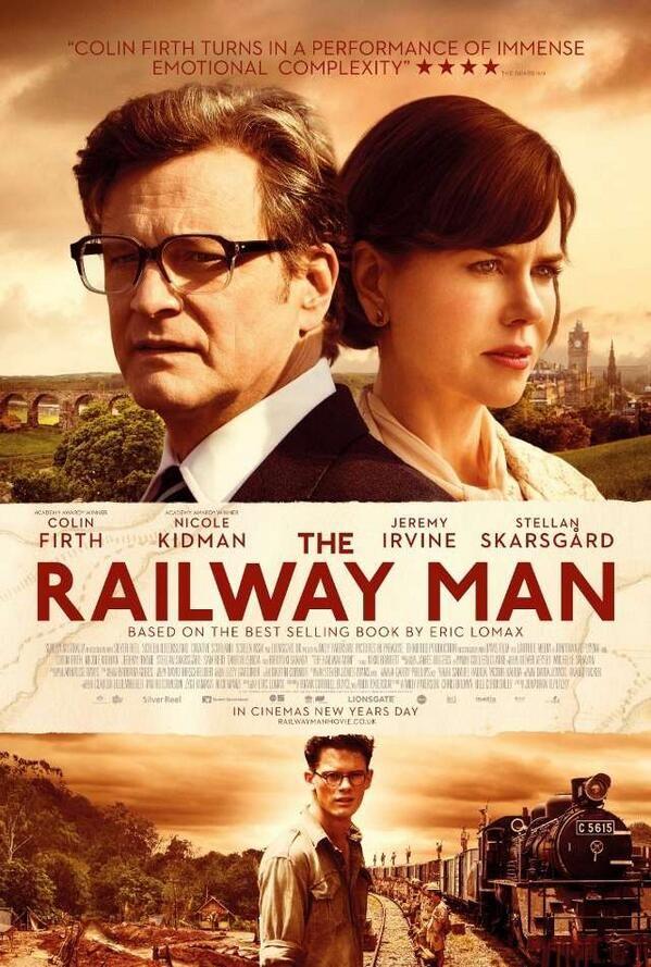 """Biblioteca CRAI UPO en Twitter: """"#CineyLibros Se estrena #UnLargoViaje, del """"best seller"""" The Railway Man. Drama biográfico, bélico y buenos actores."""""""