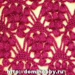 several crochet pattern stitches