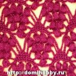 several crochet pattern stitches