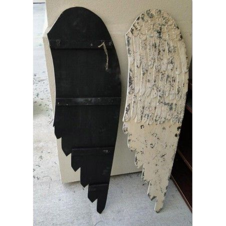diy wood angel wings | Wooden Angel Wings