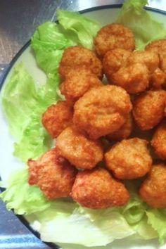 Easy! Chicken and Tofu Karaage 簡単!節約!鶏ひき肉と豆腐のカラアゲくん