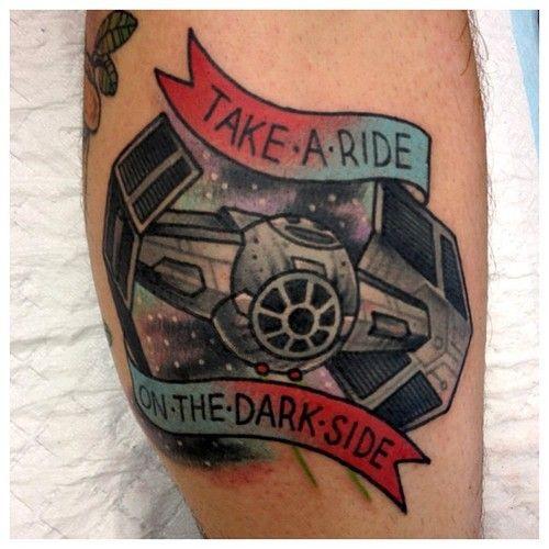 Star Wars ink by Sanchez