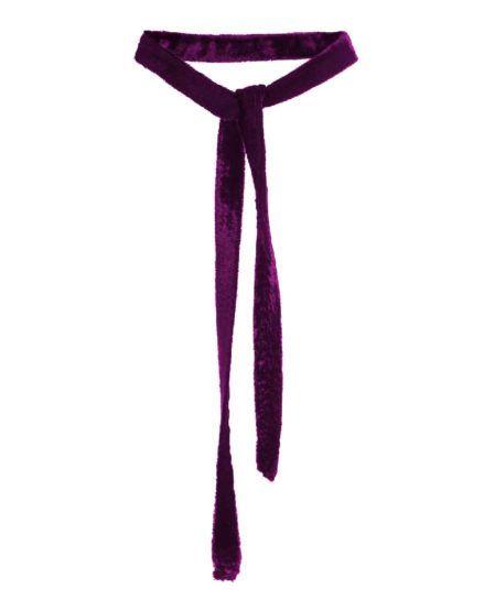 LH's Basic Velvet Choker Necklace MAUVE #Velvet #Choker #Necklace #MAUVE #silk #laurahincu