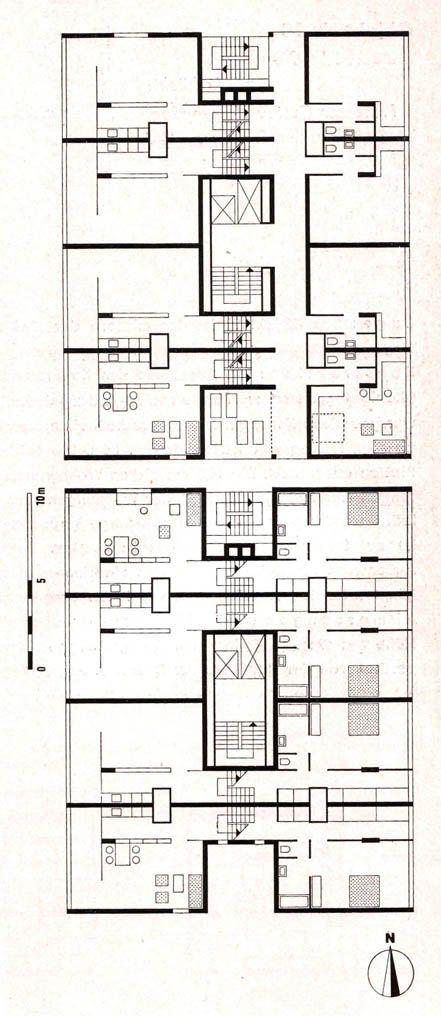 Architektur im Berliner Hansaviertel =Broek/Bakema=