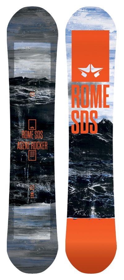 Rome Agent Rocker Snowboard | Rome Snowboard Design Syndicate 2016  155! Just got mine!!!