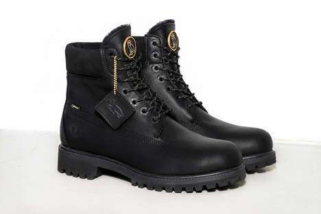 Record Label Work Boots : OVO Timberland