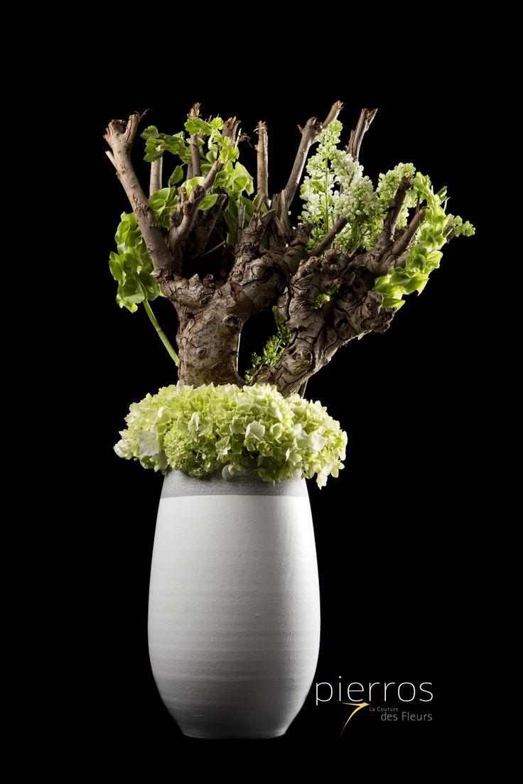 Sculpturing Nature.....Arrangement by M.Florist Pierros V.