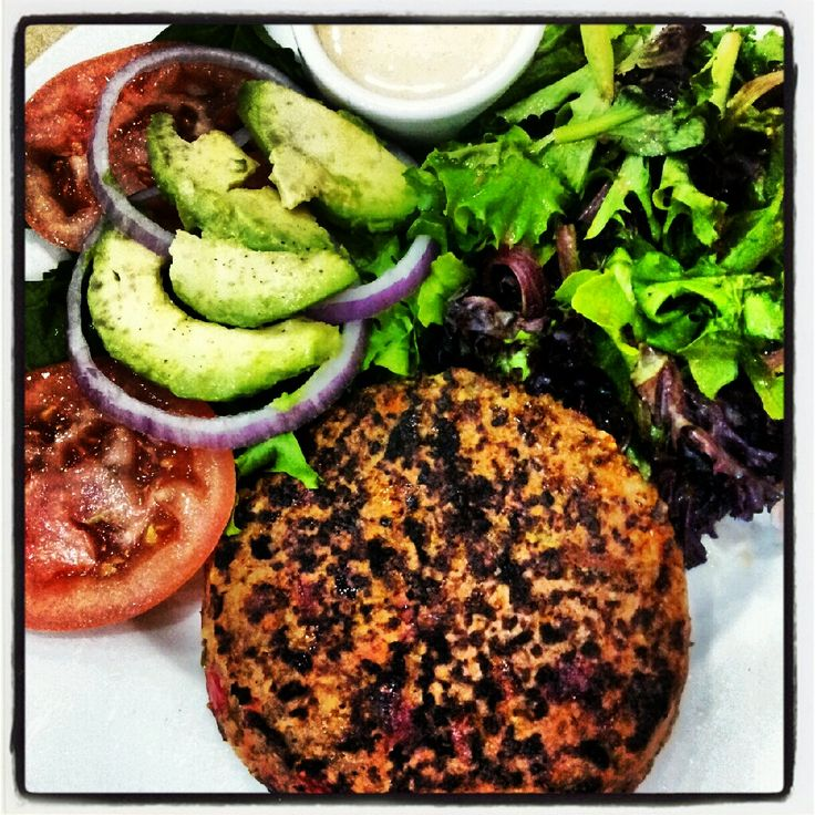 If you have a First Watch Restaurant near you, I hope you can try their bean-less veggie burger! I order it almost every weekend with no bun and a side of salad greens, avocado slices, tomato and onion! Delicious! Come visit me on my blog where I share lots more about having a fit body and a pro-FIT-able blogging business!:)