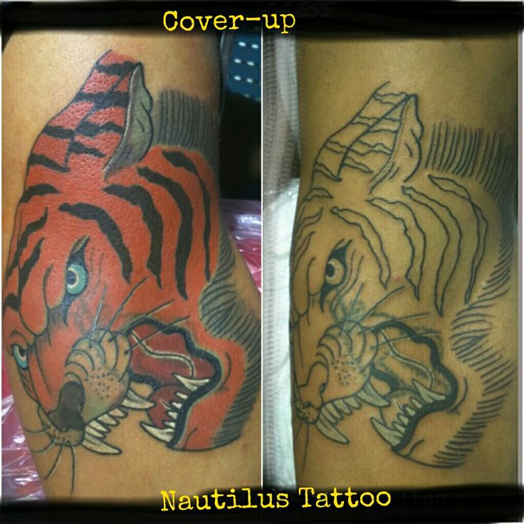#tiger #tigre #coveruo #cobertura #copertura #tattoo #tatuaggio #tatouage #tatuagem #rome #roma #Coveruptattoo