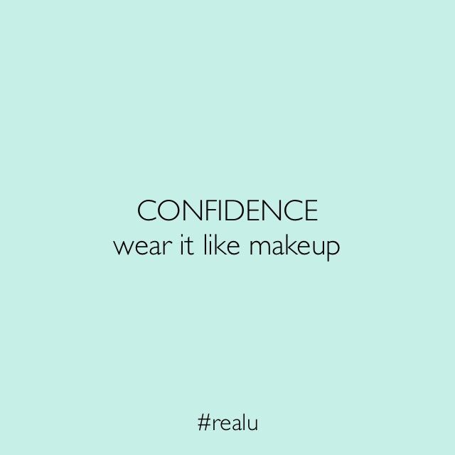 Wear you skin with confidence today  Kisses Ebony xx  real-u.com.au