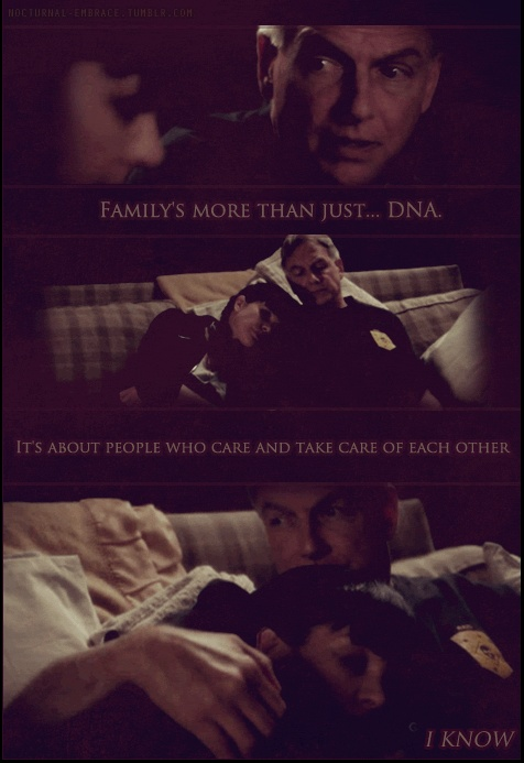 """Family's more than just DNA."" NCIS Season 9 Episode 4"