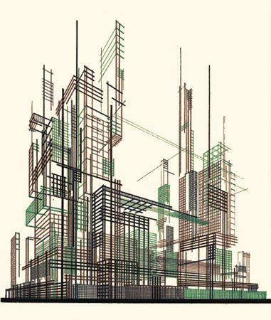 Картинки по запросу яков чернихов архитектурные фантазии 101 композиция