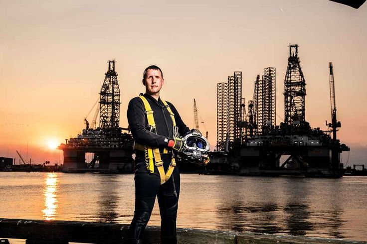 """The World's Most Extreme Scuba Diving JobsOffshore Saturation Diver:""""Saturation diving is the endgame"""" of commercial diving, says Brian Lacey."""