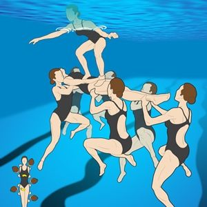 How to Do a Platform Lift in Synchronized Swimming