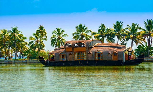 Experience the splendor of one of India's most idyllic landscapes on board a refurbished houseboat #CelebrityCruises #CelebrityShoreExcursions