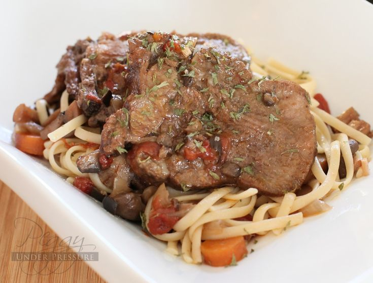 Red Wine Braised Beef Tongue  {Electric Pressure                     Cooker Recipe}   serve over zooclles