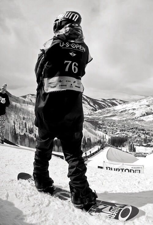 One day I'll compete in the Burton US Open