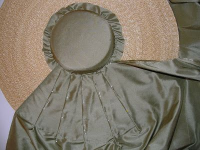 Today I'm working on making an 18th century silk hat for my mother to wear this upcoming weekend in a fashion show. She'll be portraying...