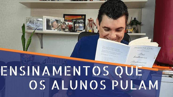 Olá estudante, estava eu lendo um livro do Augusto Cury, Pais Brilhantes Pais Brilhantes Professores Fascinantes quando me deparei com....