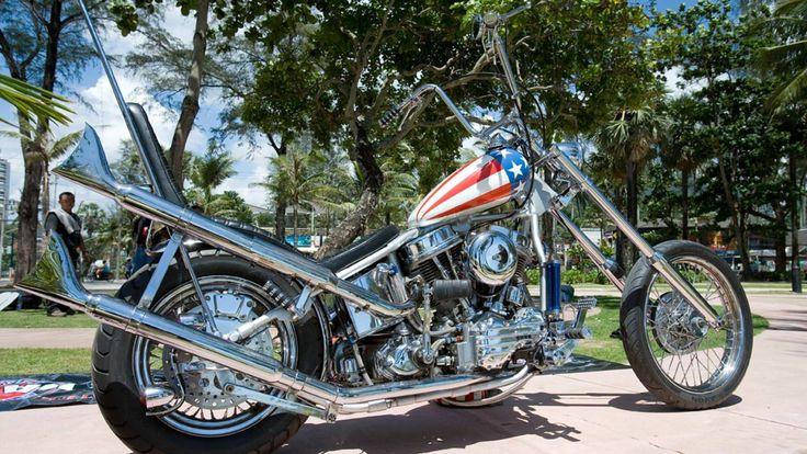 classic captain america chopper - photo #19